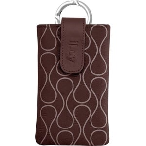 iLuv Parasol Carrying Case (Sleeve) for iPhone - Brown