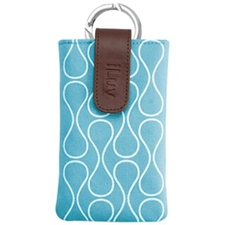 iLuv Parasol Carrying Case (Sleeve) for iPhone - Teal