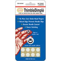 ThimbleDimple-1 Finger Protector & 8 Adhesive Dots