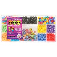 Bead Box Kit 579 Beads/Pkg-Brite Skulls