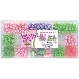 Bead Stylin' Bead Box Kit 4.4 Ounces/Pkg-Mint Pastel