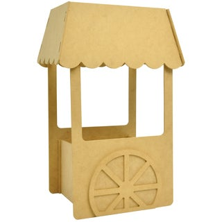 Beyond The Page MDF Small Candy Cart-11X6.5X4