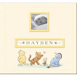 """Disney Classic Pooh Frame-A-Name Postbound Album 12""""X12""""-"""