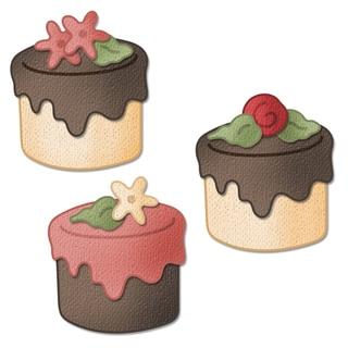 "CottageCutz Mini Die 1.75""X1.75""-Tea Cake Made Easy"