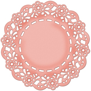 CottageCutz Die 4X4-Tea Time Doily Made Easy