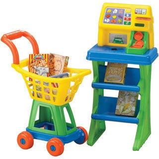 American Plastic Toys Shop'N Pay Market Set