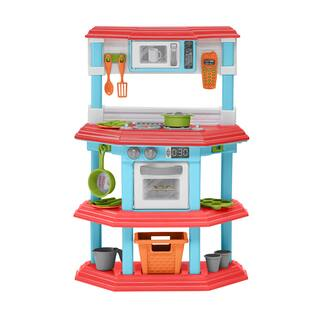 American Plastic Toys Gourmet Kitchen|https://ak1.ostkcdn.com/images/products/7152396/P14644249.jpg?impolicy=medium
