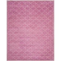 Safavieh Handmade Moroccan Chatham Pink Wool Rug - 8' x 10'