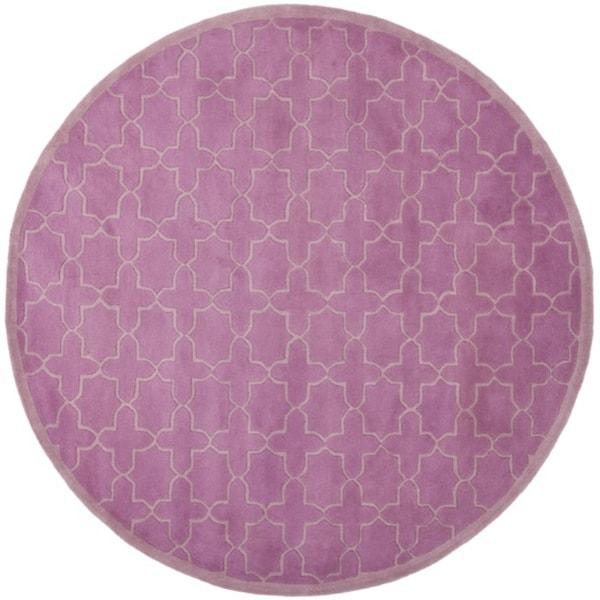 Shop Safavieh Handmade Moroccan Chatham Pink Wool Rug