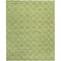 Safavieh Handmade Moroccan Chatham Green Wool Rug - 8' x 10'
