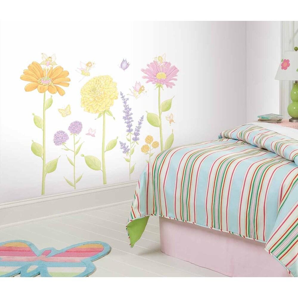 Shop RoomMates Fairy Garden Peel & Stick Mega Pack Wall