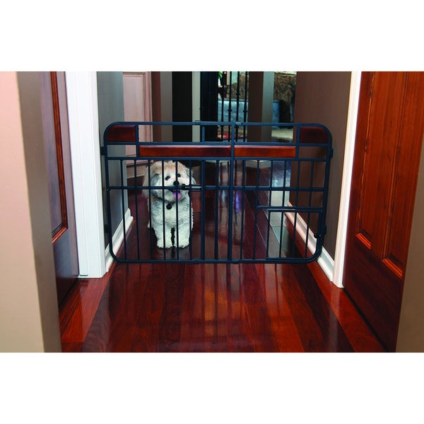 Carlson Design Studio Tuffy Wood Metal Expandable Gate