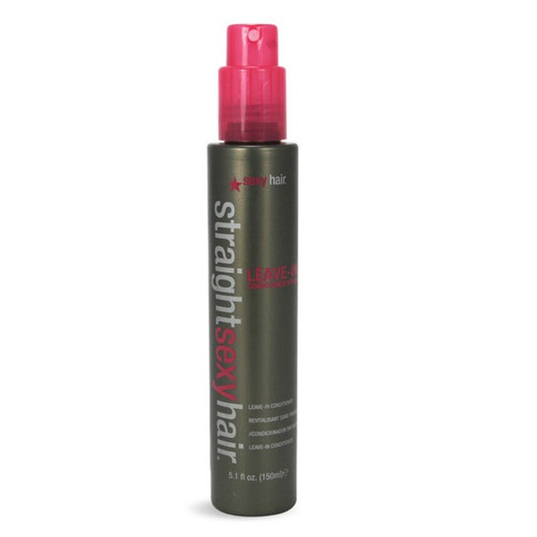 Straight Sexy Hair Leave-In Conditioner 5.1-ounce Spray
