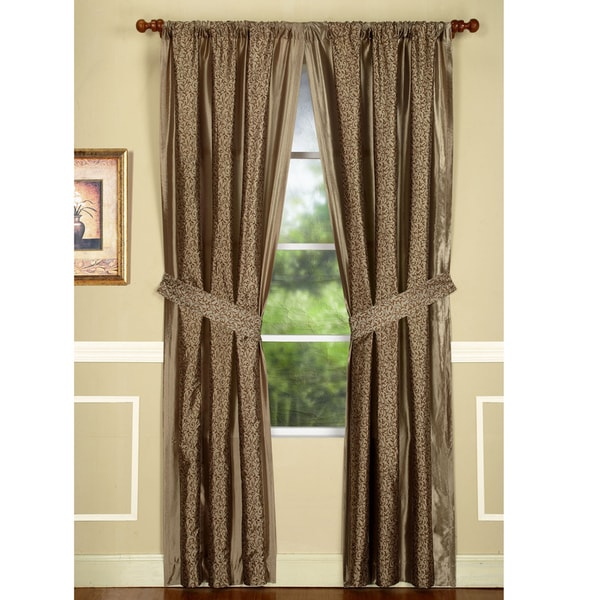 Maxton Sable 84-inch Drapery Panel Pair