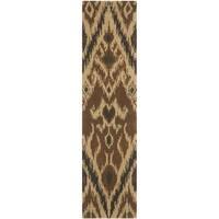 Safavieh Handmade Marrakesh Brown New Zealand Wool Rug - 2'3 x 9'