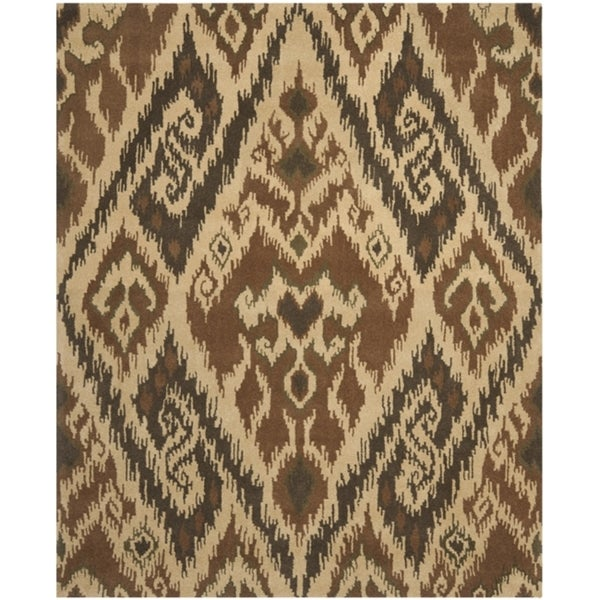 Safavieh Handmade Marrakesh Brown New Zealand Wool Rug (6' x 9')