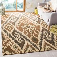 Safavieh Handmade Marrakesh Brown New Zealand Wool Rug - 6' x 9'