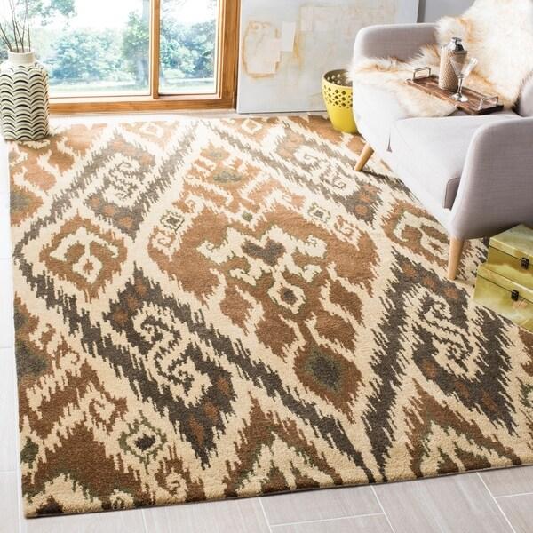 Safavieh Handmade Marrakesh Brown New Zealand Wool Rug - 8' x 10'