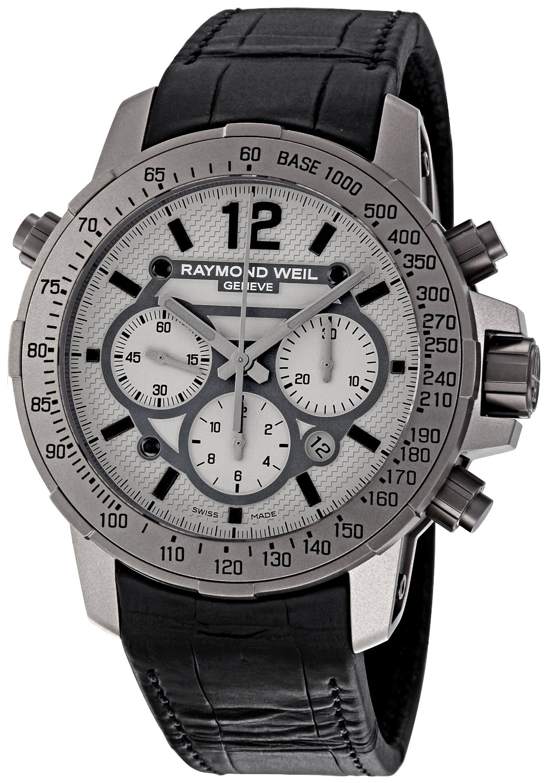 Raymond Weil Men's Nabucco Chronograph Titanium Watch