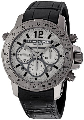Raymond Weil Men's Nabucco Chronograph Titanium Watch