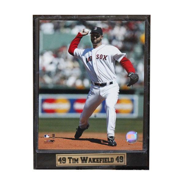 Boston Red Sox Tim Wakefield Photo Plaque