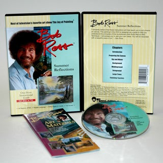 Weber Bob Ross DVD Summer Reflection