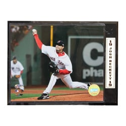 Boston Red Sox Josh Beckett Photo Plaque