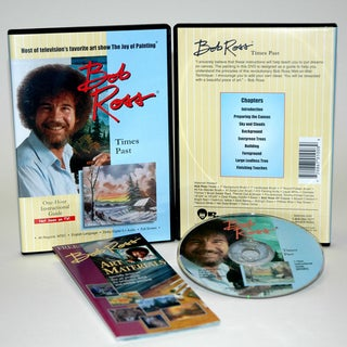 Weber Bob Ross DVD Times Past