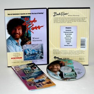 Weber Bob Ross DVD Winter Harmony