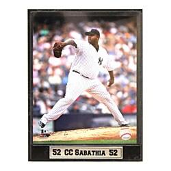 New York Yankees CC Sabathia Photo Plaque