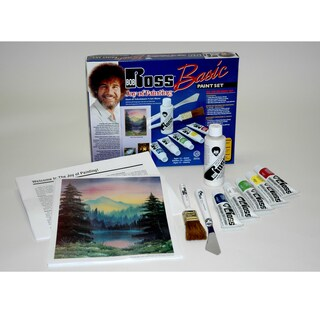 Weber Bob Ross Basic Paint Set with Instructions, DVD and Art Material