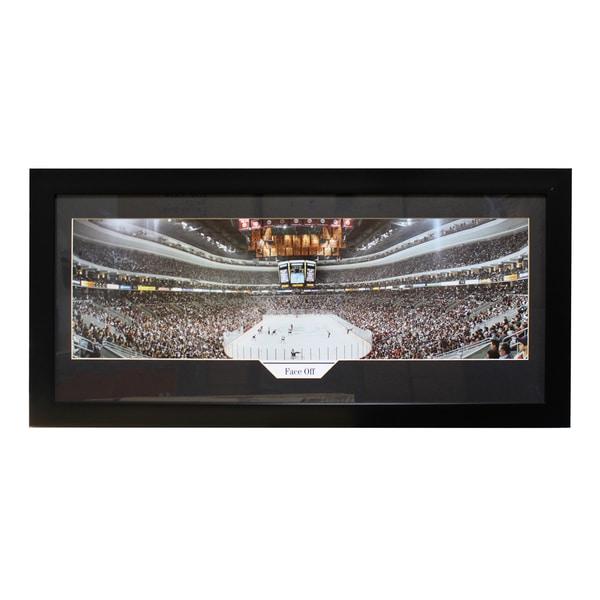 Philadelphia Flyers 'Face Off' Panoramic Frame