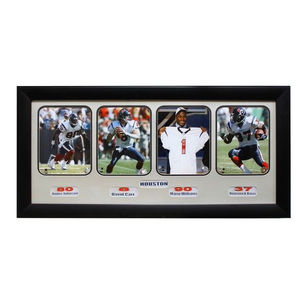 Houston Texans 4-photo Sports Frame