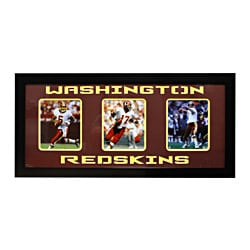 Washington Redskins Three-Photo Frame