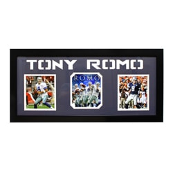 Tony Romo Dallas Cowboys Three-Photo Frame