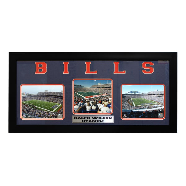 Buffalo Bills Ralph Wilson Stadium Three-Photo Frame