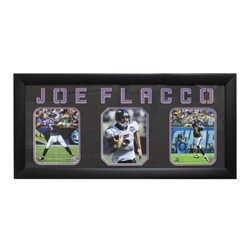 Joe Flacco Baltimore Ravens Three-Photo Frame