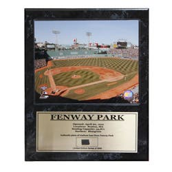Fenway Park Boston Red Sox Game Used Plaque|https://ak1.ostkcdn.com/images/products/7154344/Fenway-Park-Boston-Red-Sox-Game-Used-Plaque-P14645873.jpg?impolicy=medium