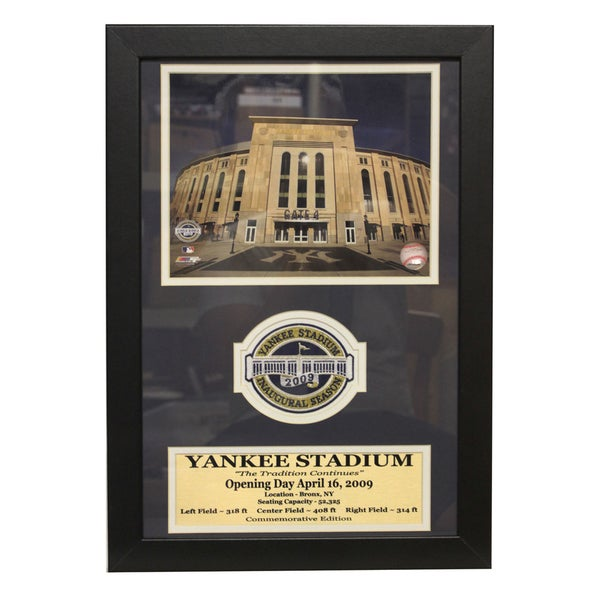New Yankee Stadium Patch Frame