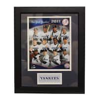 New York Yankees 2011 Team Deluxe Frame