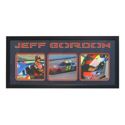 Jeff Gordon Three-Photo Frame