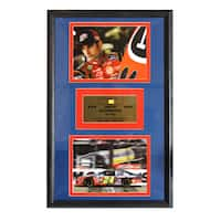 Jeff Gordon Authentic Car Piece Double Photo Frame