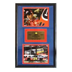 Jeff Gordon Authentic Car Piece Double Photo Frame