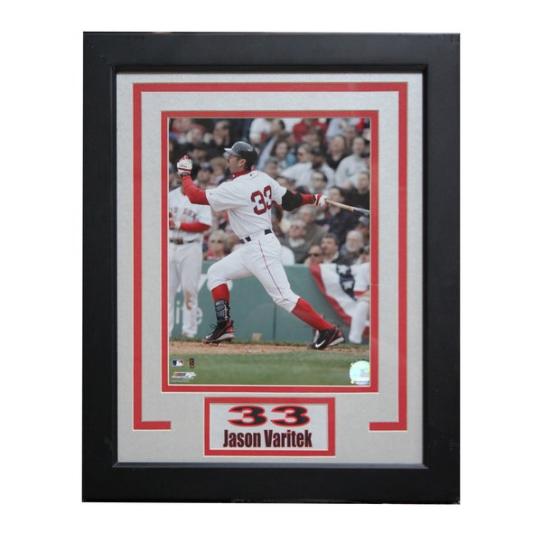 Boston Red Sox Jason Varitek Deluxe Photo Frame
