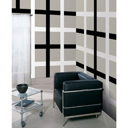 Wall Pops 'Black Jack and Ghost Stripes' Vinyl Wall Decals Set