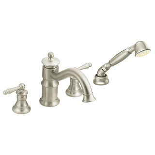 Moen Brushed Nickel Two-handle Faucet