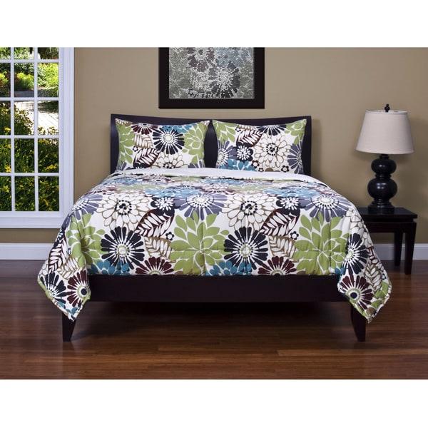 Blooming Bulb Harvest 3-piece Comforter Set