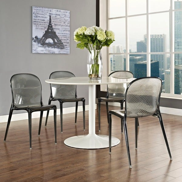 Scape Acrylic Dining Chair Free Shipping Today Overstockcom