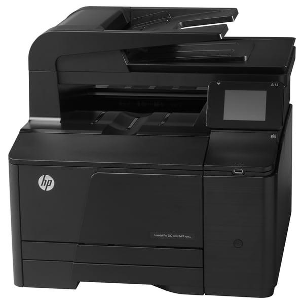 HP LaserJet Pro 200 M276NW Laser Multifunction Printer - Color - Plai