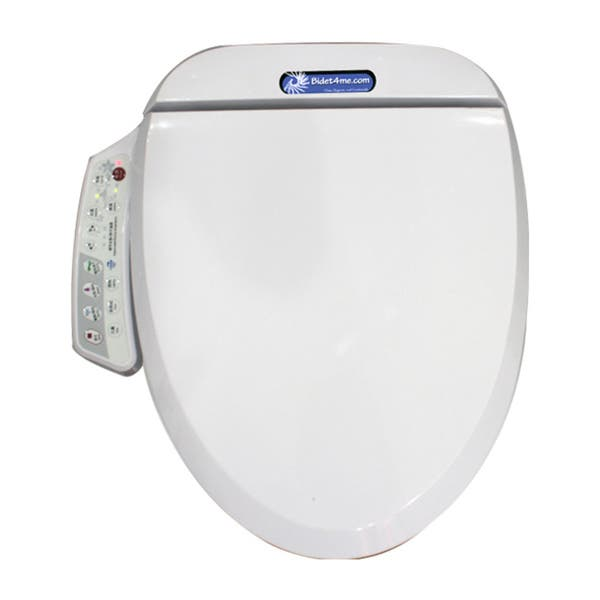 Shop Bidet4me E 200a Elongated Electronic Bidet Seat With Dryer And Deodorizer Overstock 7154954